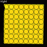 Fluorescent Yellow Green Reflective Stickers