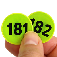 Consecutively Reflective Hot Dots129-192