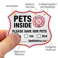 Alert - Please Save Our Pets,Rescue sticker