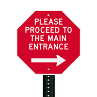 Custom Traffic Metal Sign