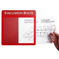 Map Evacuation GlowSign