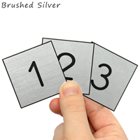 1 to 100 Engraved Plastic Number Set