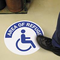 Handicap Symbol SlipSafe Floor Signs
