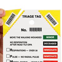 Emergency Medical Triage Tag