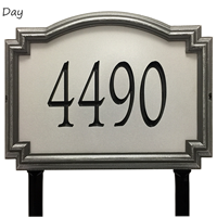 Architectural Address Plaque
