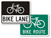 Signs: Aids for Confusing Bike Laws