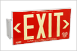 Property Exit Signs