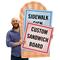 Upload Any Design Custom Standard Sign Panel