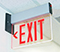 Universal Mount Edge-Lit LED Exit Sign
