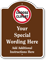 Add Wording Instructions Clipart Custom Dome Top Sign