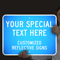 Custom Reflective Sign - Add Your Special Text