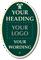 Design Palladio Sign, Add Heading, Logo And Motif