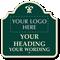Custom Palladio Sign, Add Motif, Logo, Heading, Wording