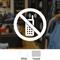 No Cellphone Symbol - No Cellphone Label
