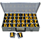 Reflective Vinyl Numbers and Letters Kit 2.5 Inch Tall Yellow and Black
