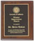 Custom Cherry Finish Wooden Award Plaque