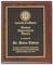 Custom Cherry Finish Wooden Award Plaque