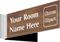 Custom Engraved Corridor Clipart Sign