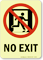 GlowSmart™ No Exit Sign